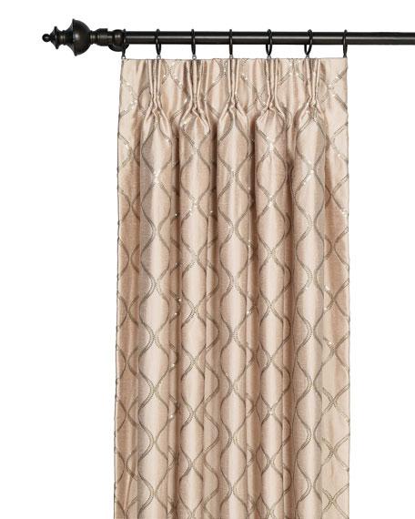 "Bardot Curtain Panel, 108"""