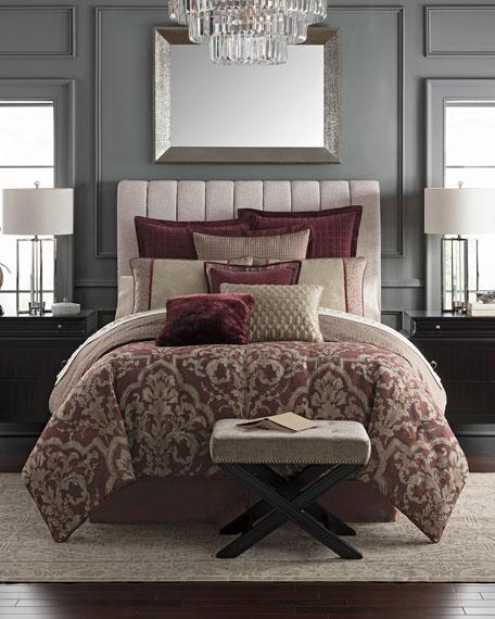 Amarah Reversible 4-Piece King Comforter Set