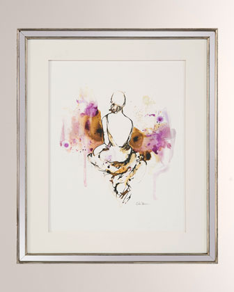Lady in Violet IV Giclee Wall Art by Kiah Denson  and Matching Items