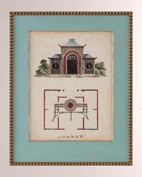 """""""Garden Follies IV"""" Art Print"""