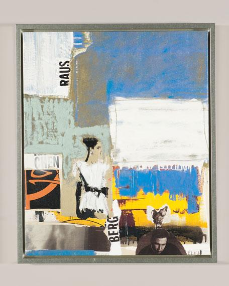 """Ernest Fashion VI"" Giclee Canvas Art by Elige"