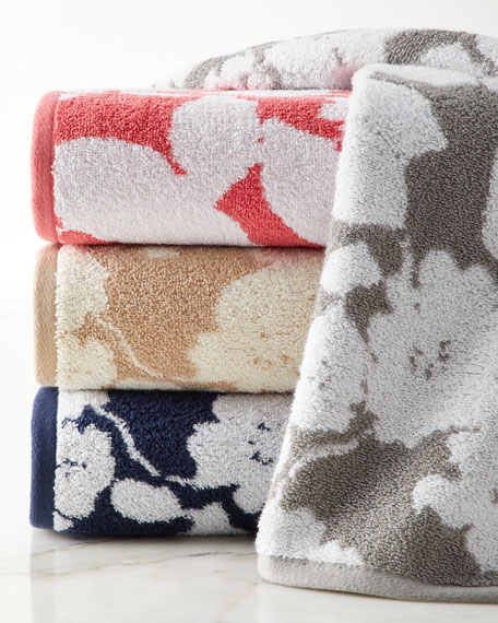 Sanders Antimicrobial Floral Washcloth