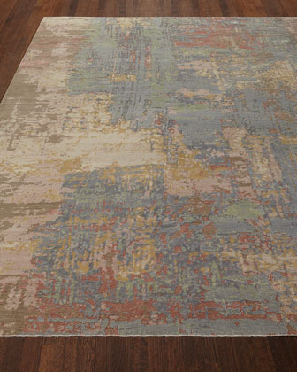 Ford Hand-Knotted Rug  5.6' x 8'  and Matching Items