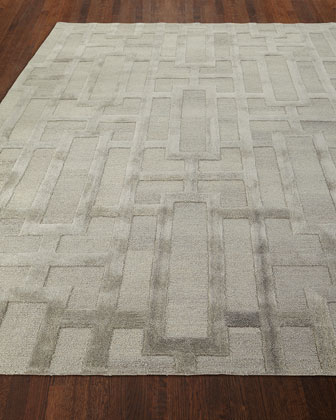 Hollis Hand-Tufted Rug  5' x 8'  and Matching Items