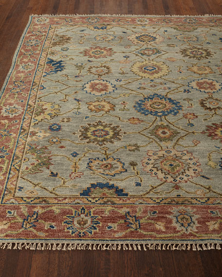 Addington Hand-Knotted Rug, 10' x 14'