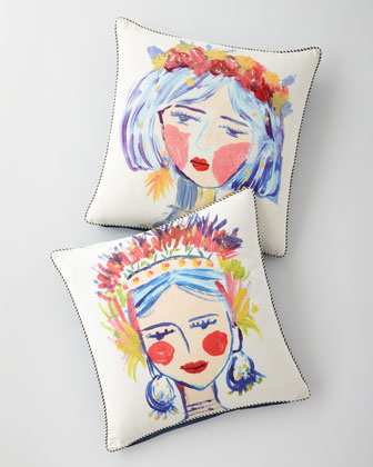 Abba Decorative Pillow  and Matching Items