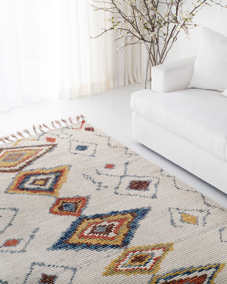 Nahla Hand-Knotted Rug, 9' x 12'