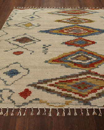 Nahala Hand-Knotted Rug  8' x 10'  and Matching Items