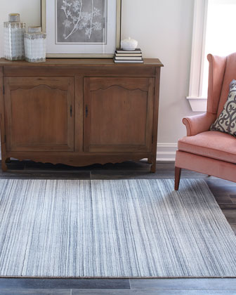 Pacific Hand-Loomed Runner  3' x 8'  and Matching Items