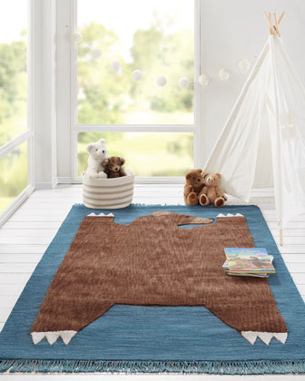 Meyer Hand-Tufted Rug  5' x 8'  and Matching Items