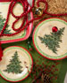 Merry Christmas Tree Dinner Plates, Set of 4
