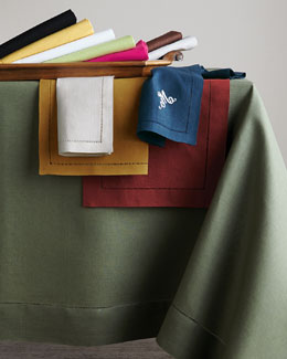 SFERRA Hemstitched Table Linens