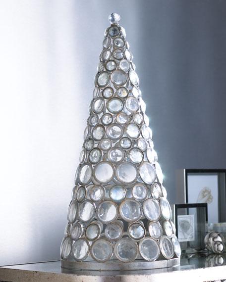 Metal Cone-Shaped Tree