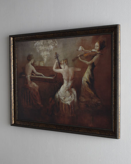 """Rhapsody In Twilight"" Painting"