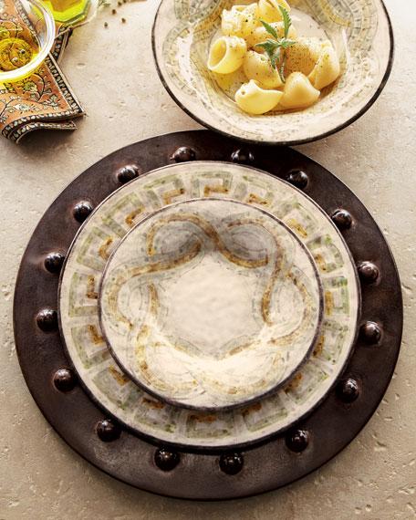 """12-Piece """"Mosaico"""" Dinnerware"""