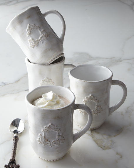 "Four ""Heirloom"" Mugs"