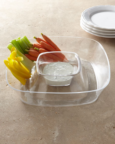 Acrylic Chip & Dip Set