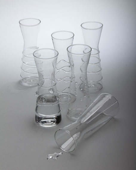 Six Mini Carafes