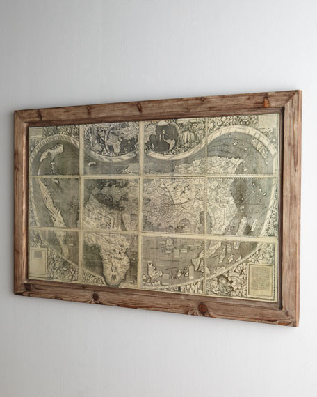 """Treasure Map"" Painting"