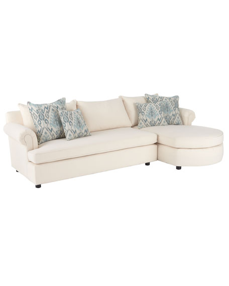 """Ellsworth"" Neutral Two-Piece Sectional"