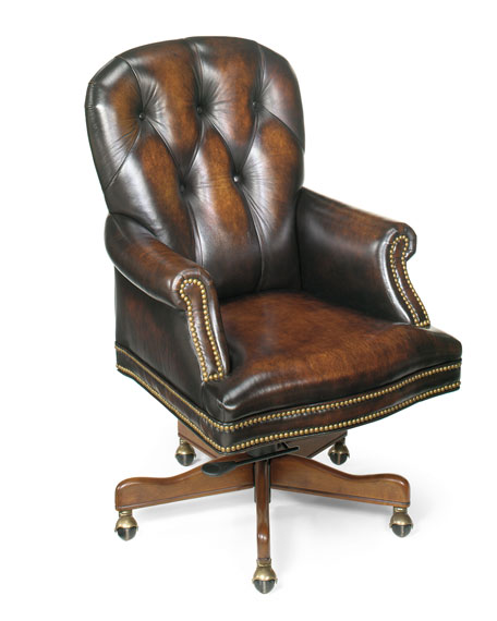 """Owen"" Leather Desk Chair"