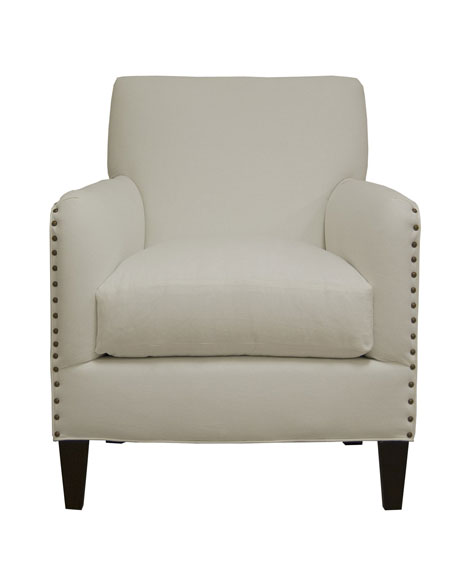 """Carley"" Linen Chair"