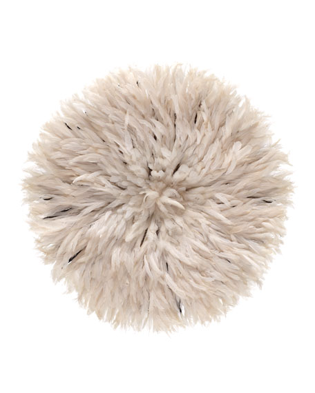 White Feather Headdress Wall Decor