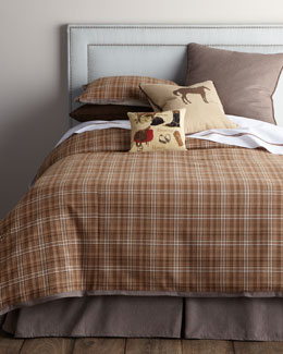 "French Laundry Home ""Kevin"" Bed Linens with Equestrian Accents"