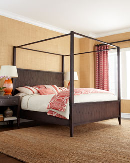 """Karington"" Espresso Bedroom Furniture"