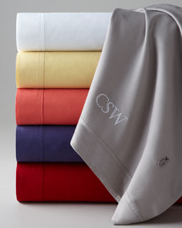 Lacoste Brushed Twill Sheet Sets