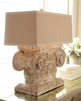 """Doric Capital"" Lamp"