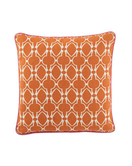 """Baja"" Orange Pillow"