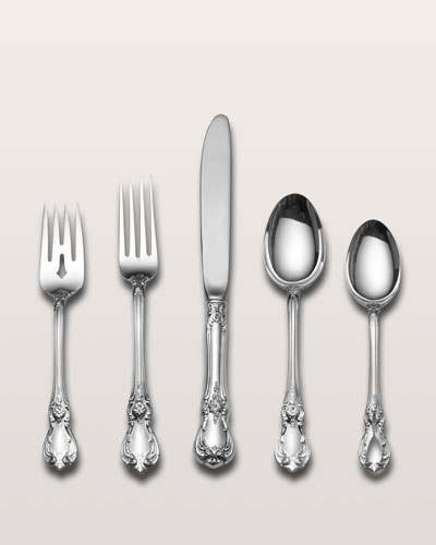 5-Piece Old Master Sterling Silver Flatware Place Setting
