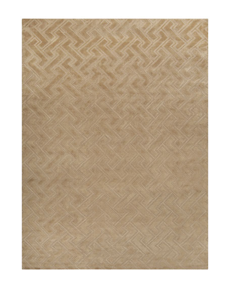 Mugal Maze Rug, 5' x 8'
