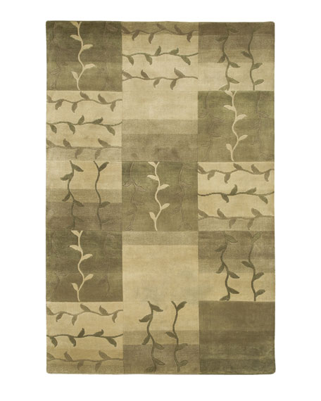 Mugal Vines Rug, 5' x 8'
