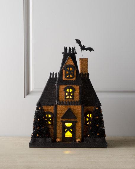 Orange Halloween House
