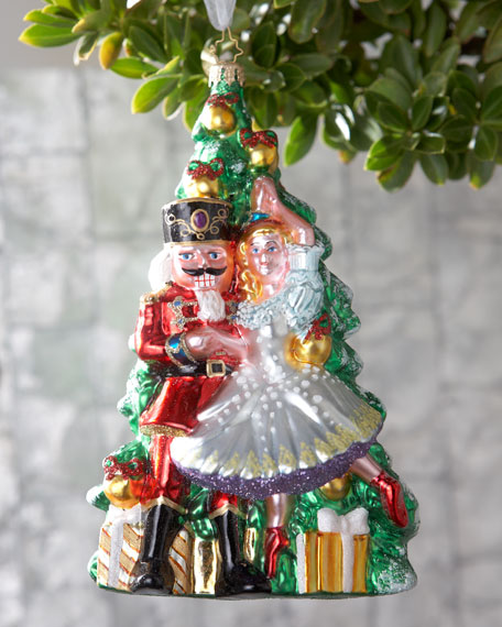 Christopher radko quot nutcracker ballet christmas ornament