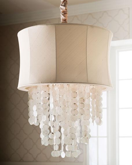 Regina andrew design capiz shell chandelier aloadofball Images