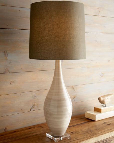 """Brushed Sand"" Lamp"
