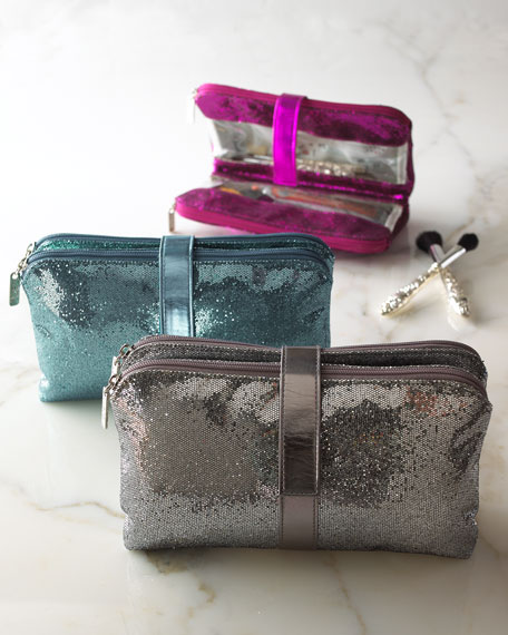 Metallic Cosmetic Bag