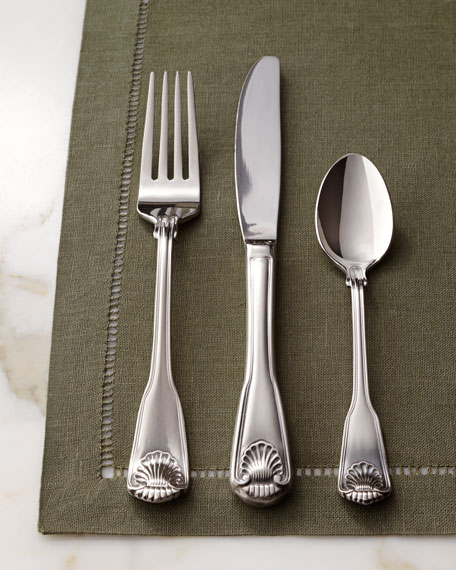 "45-Piece ""London Shell"" Flatware Service"