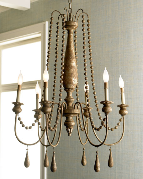 French bead chandelier french bead chandelier mozeypictures Choice Image