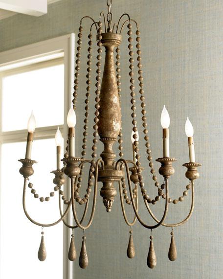 French bead chandelier french bead chandelier aloadofball Gallery
