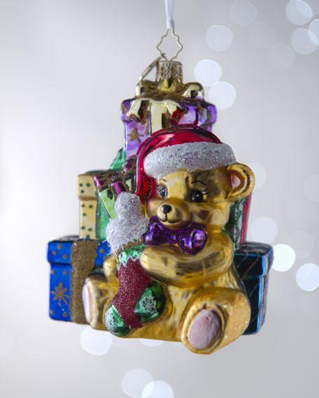 """Bountiful Bear"" 1st Christmas Ornament"