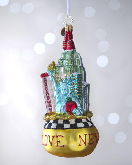 """Big City Bag"" Christmas Ornament"