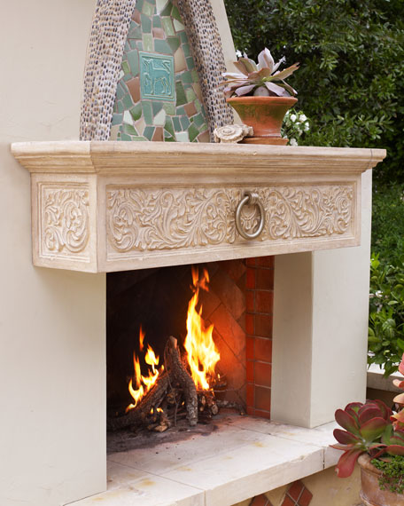 Mantel Shelf with Ring