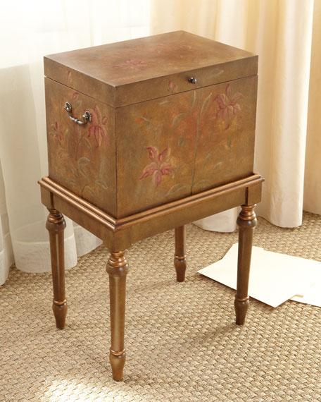 Linen Texture File Box