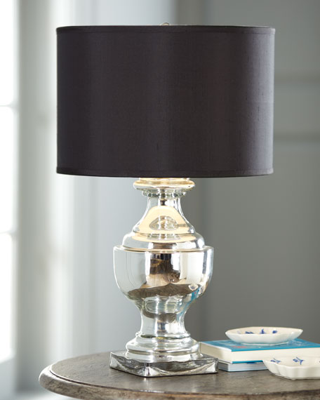 """Mercury Glass"" Urn Lamp"