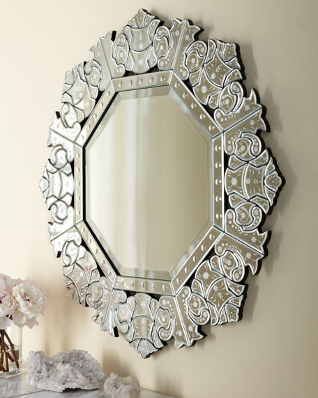 """Ornate Crown"" Mirror"