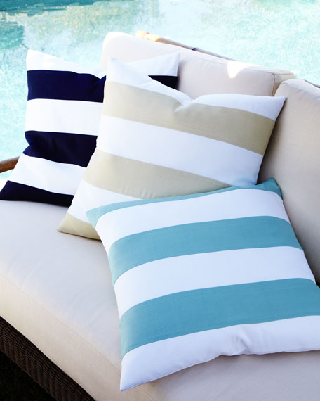 Outdoor Stripe Pillow